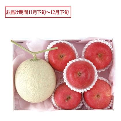 マスクメロン&サンふじりんご