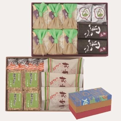 赤坂銘菓二段箱