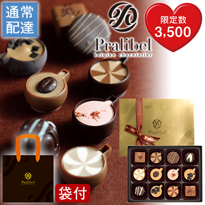 〈プラリベル〉 カフェショコラ 12個入