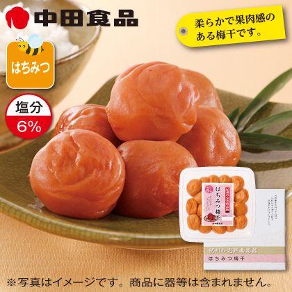 中田食品 はちみつ梅干 4箱