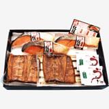 鰻串焼・焼紅鮭