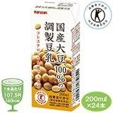 国産大豆100%の調製豆乳