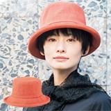 紅殻染め帽子
