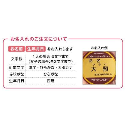 NASUのラスク屋さん ミニプリンケーキ&苺ケーキ&今治タオルA(お名入れ) 写真入りメッセージカード(有料)込