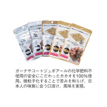 ドクターズチョコレート5袋セット(ダーク&ミルク)