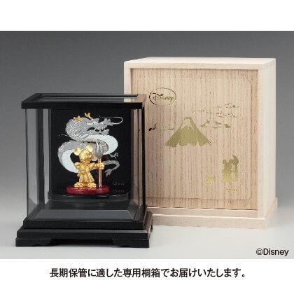 〈ディズニー〉純金 ミッキーマウス 龍