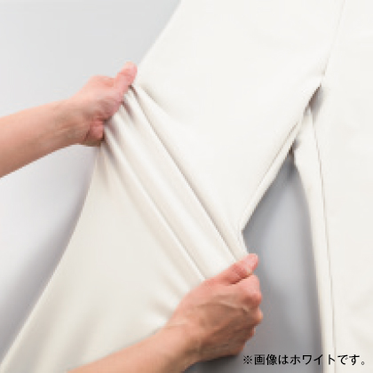 美・スタイル 九分丈パンツ(ブラック/L/股下62cm)