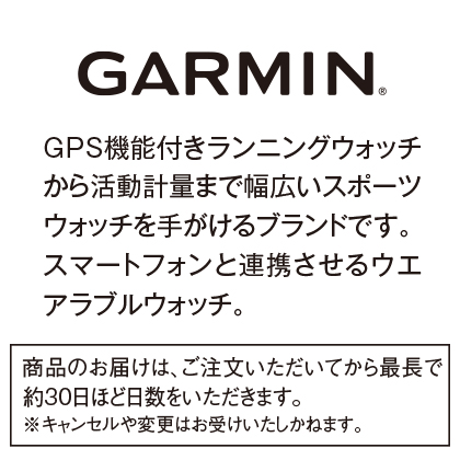 〈ガーミン〉vivosmart4(メルロー)