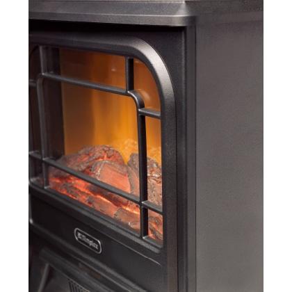 〈ディンプレックス〉電気暖炉(ファンヒーター) Micro Stove(ホワイト)