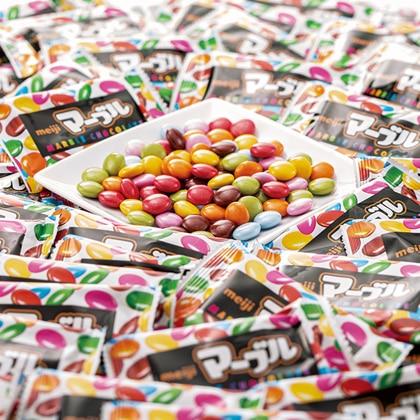〈明治〉 マーブルチョコレート大容量1kg