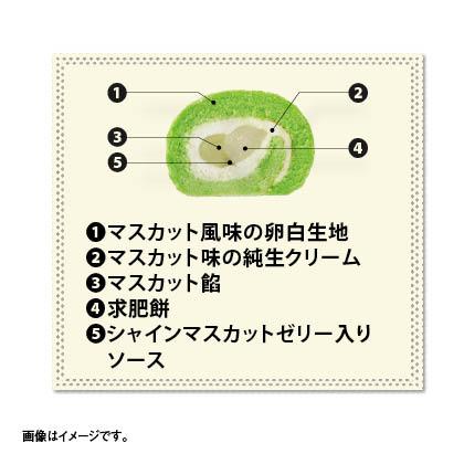 マスカットロール(マスカット風味)