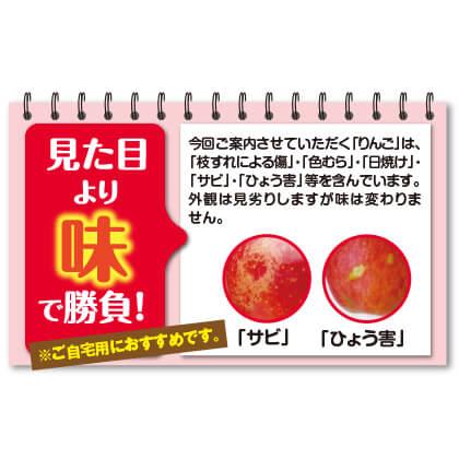 お買い得サンふじB(1月〜2月のお届け)