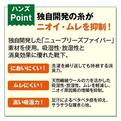スーパーソックス 5本指 3足セット(24〜26cm)