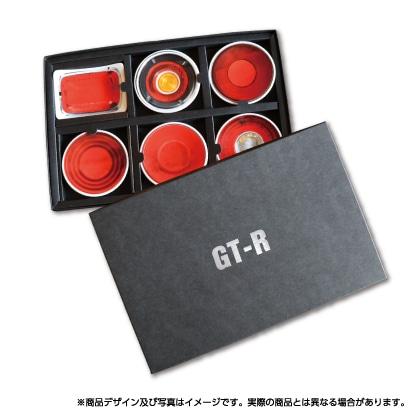 歴代GT−Rテールランプ小皿セット