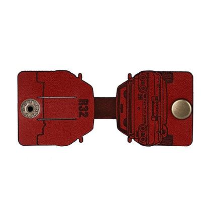 レザーケーブルクリップ 32GT-R(レッド)
