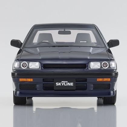 KYOSHOオリジナル  1/18スケール レジンモデル  samurai シリーズ 日産 スカイライン GTS-R (ブルー)