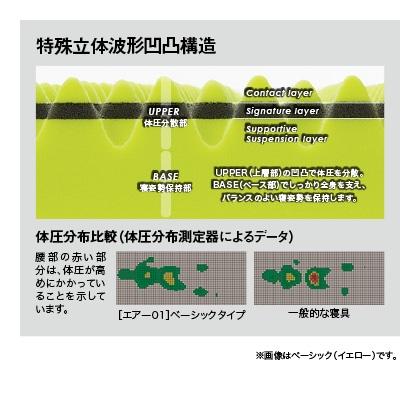 <西川>[エアー01] マットレス ハード(ブルー)