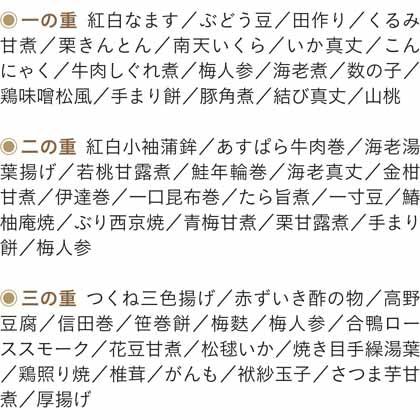 【早割】京料理 美濃吉 おせち料理三段重