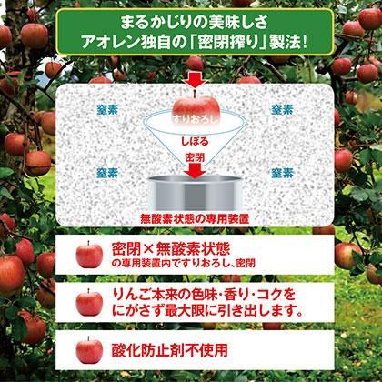 密閉搾りねぶた りんごジュース