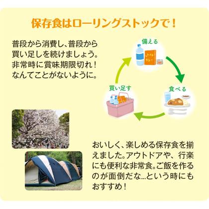 山梨の天然水長期保存水(490ml×24本)