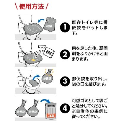 災害用トイレ マイレットmini10 3セット