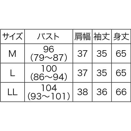 強撚綿更紗柄プルオーバー(L)