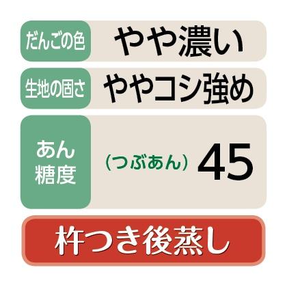 〈岡本屋〉笹だんご(つぶあん30個)