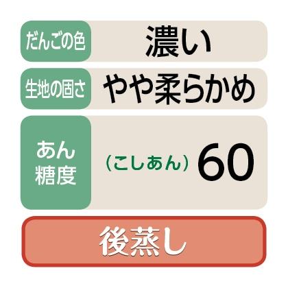 〈くしや〉笹だんご(こしあん30個)