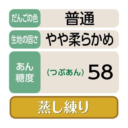 〈港製菓〉笹だんご(つぶあん20個)