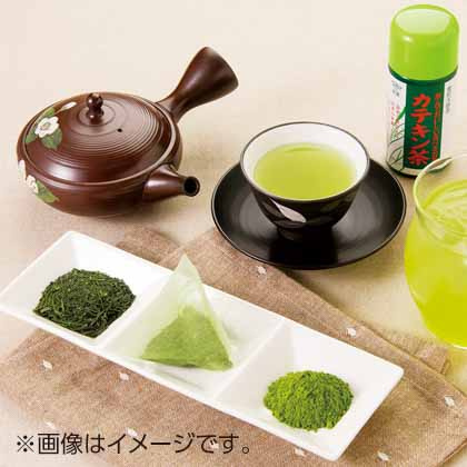 静岡新茶とカテキン茶詰合せ