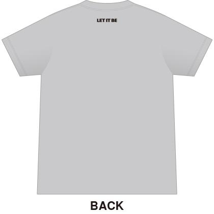 ザ・ビートルズTシャツ カラー グレー サイズL