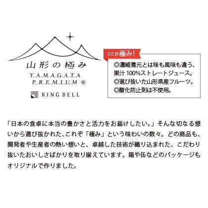 山形の極み プレミアムデザートジュース【慶事用】