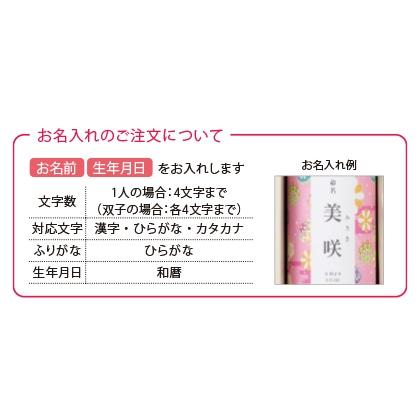 山田園 紀州南高梅つや丸と静岡茶(お名入れ)ピンク【出産内祝い用】