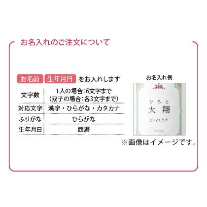 ほっこりティータイムセットA(お名入れ)ピンク【出産内祝い用】