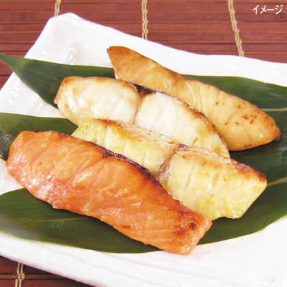 <※お中元対象商品>レンジで簡単焼魚 5切セット