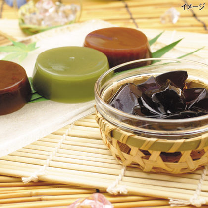 <※お中元対象商品>水羊羹&加賀棒ほうじ茶ゼリー