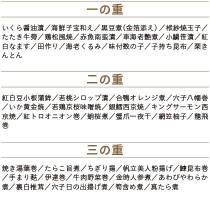 【早割】たん熊北店監修 和風おせち 三段重