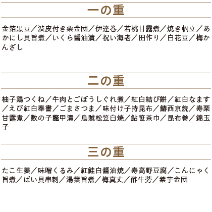 【早割】割烹料亭千賀監修 迎春おせち料理「金千華」和風三段重