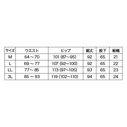 美脚ストレートクロップドパンツ(ブラック 3L)