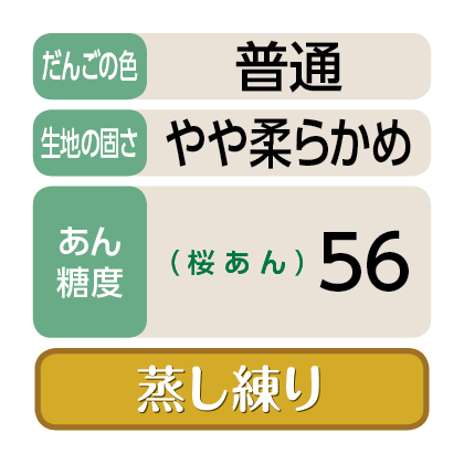 <港製菓>笹ざくら(桜あん)