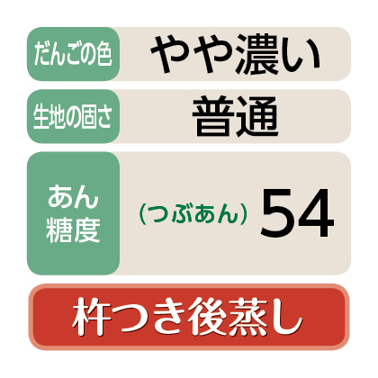 <江口>笹だんご(つぶあん20個)