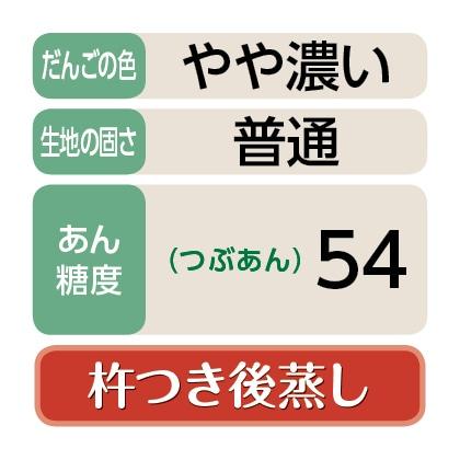 <江口>笹だんご(つぶあん50個)