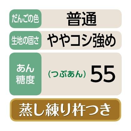 <魚沼>笹だんご(つぶあん20個)