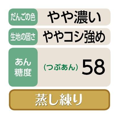 <かめや>笹だんご(つぶあん20個)