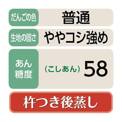 <右門>笹だんご(こしあん20個)