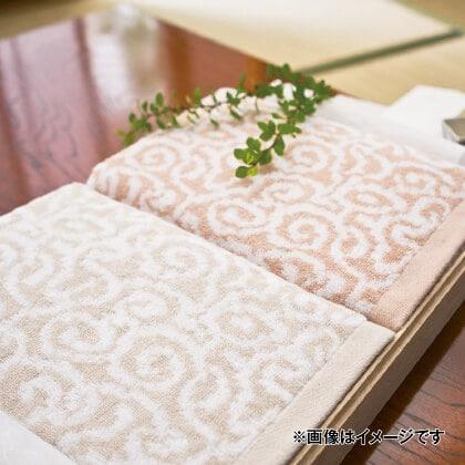 今治謹製 紋織タオル バス・フェイス・ウォッシュタオルセット(木箱入)C