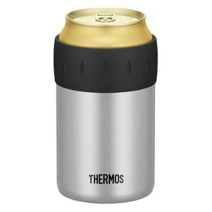 サーモス 保冷缶ホルダー シルバー