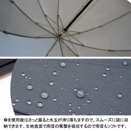 [小宮商店] 超撥水折りたたみ傘 ネイビー