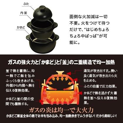 かまどご飯釜(小)