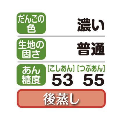 笹だんご(こしあん・つぶあん)